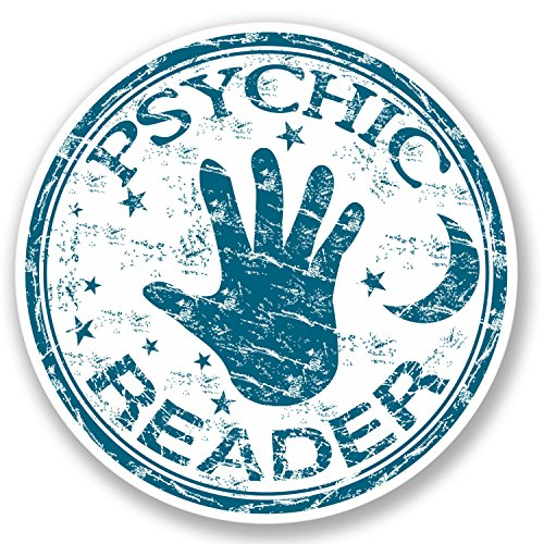 2 x Psychic Reader Stickers (Halloween X Reader)