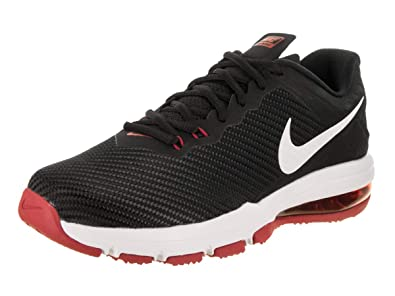 Nike Men s Air Max Full Ride TR 1.5 Training Shoe Black White Tough Red 953e5b3a1