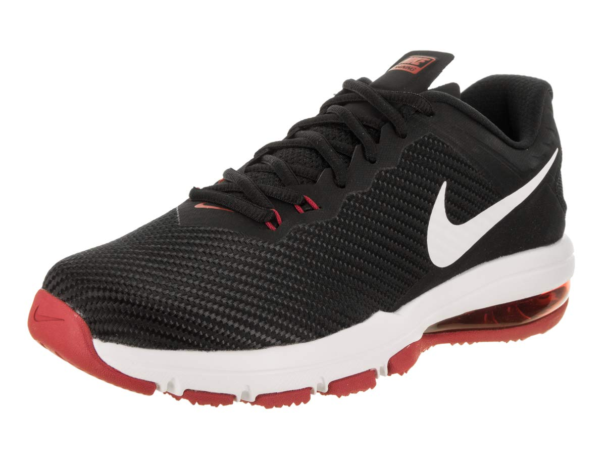 info for 2c9bd 9c642 Galleon - Nike Men s Air Max Full Ride TR 1.5 Training Shoe Black White Tough  Red Size 9 M US