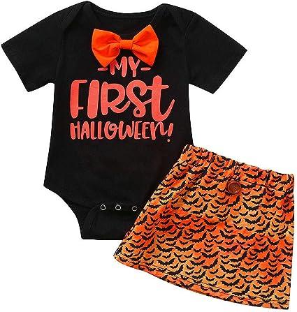 Baby Kids Red Poppies Skull Onesies Jumpsuit