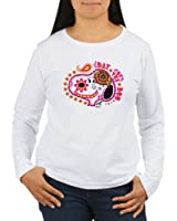 CafePress Day Of The Dog Snoopy - Women's Long Sleeve T-Shirt, Classic 100% Cotton Crew Neck Shirt