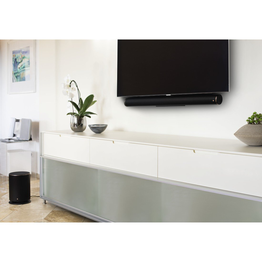 Hama TV-Soundbar-Halterung (universell für alle TV-Geräte ...