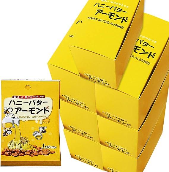 ハニーバターアーモンド[28g×12袋]◆6箱+1箱おまけ 計7箱セット