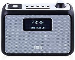 August MB400 - DAB Radio und Bluetooth NFC Lautsprecher (blau)