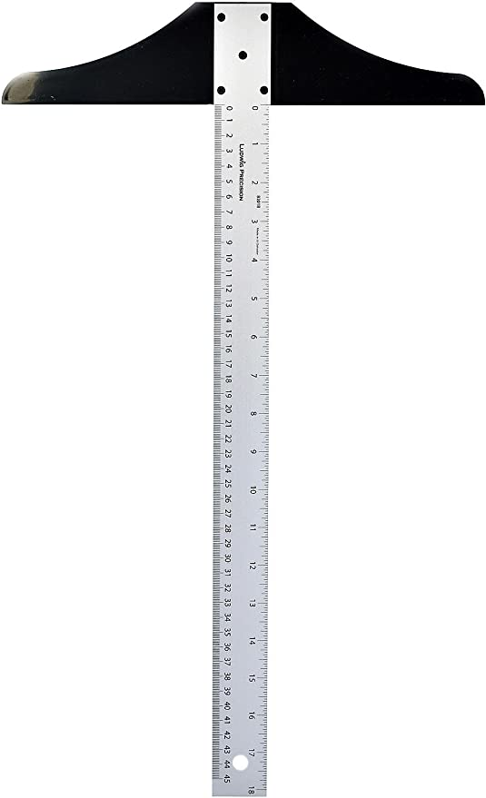 82018 Ludwig Precision 18 Standard T-Square for Art Framing and Drafting