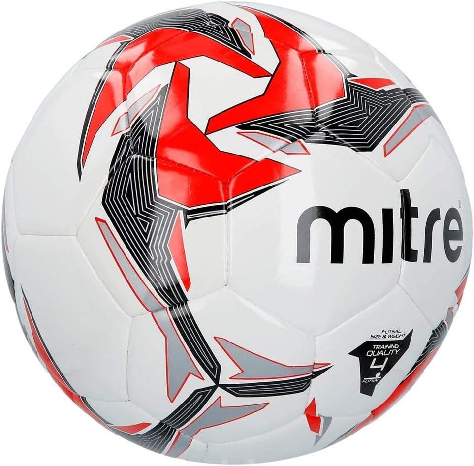 Mitre Tempest - Balón de fútbol, Color Blanco y Rojo, Color Blanco ...