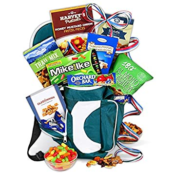 5ebc5514b380 Golf Gift Basket - Hole in ONE Golf Bag