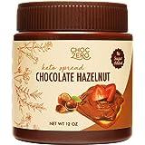 ChocZero Keto Milk Chocolate Hazelnut Spread - Keto Friendly, No Sugar Added, Best Low Carb Dessert, Perfect Topping for Almo