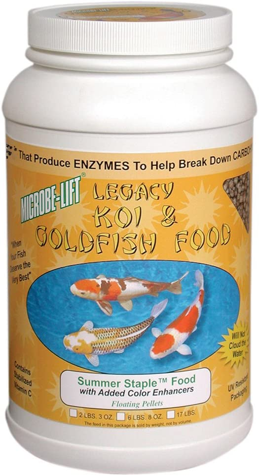 Ecological Laboratories Microbe Lift Summer Staple Fish Food Size: 2.3 Pound