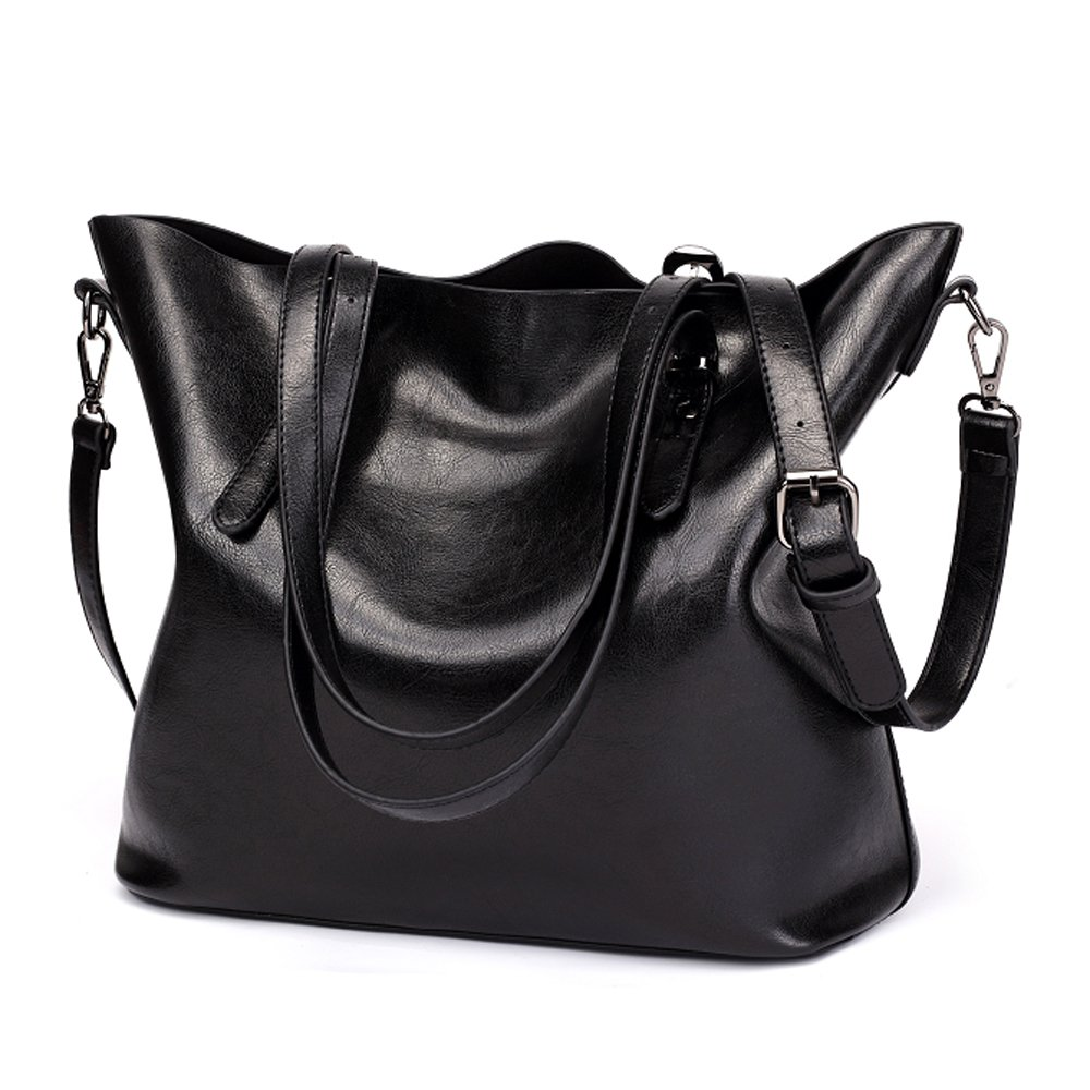 25903cdcf9e Amazon.com  LWK Women Handbags PU Leather Fashion Handbags for Women Purse  Tote Bags Shoulder Bags  Clothing