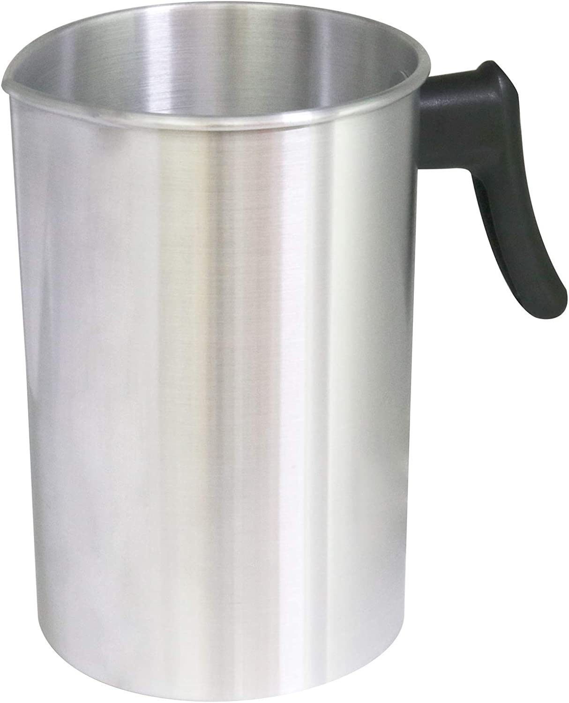 Aluminum Candle Making Pitcher Wax Melting Pot Candle Making Pouring Pot Dripless Pouring Spout /& Heat-Resisting Handle Wax Melting Pot Candle Melting Pot Wax Melting Cup