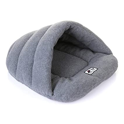 Saco de dormir para perros, cachorros de gato de mascota Cajón de cuevas Keep Warm