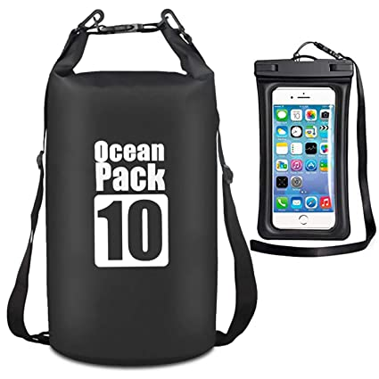1bfb6954d7e8 MALELION Waterproof Dry Bag - Roll Top Dry Compression Sack Keeps Gear Dry  for Kayaking