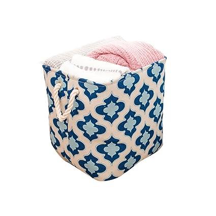 inwagui Cesto – Cesta con mango Armario Organizador Caja para ropa Toallas de mano de ropa
