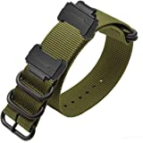 YOOSIDE NATO Nylon Buckle Watch Band for Casio...