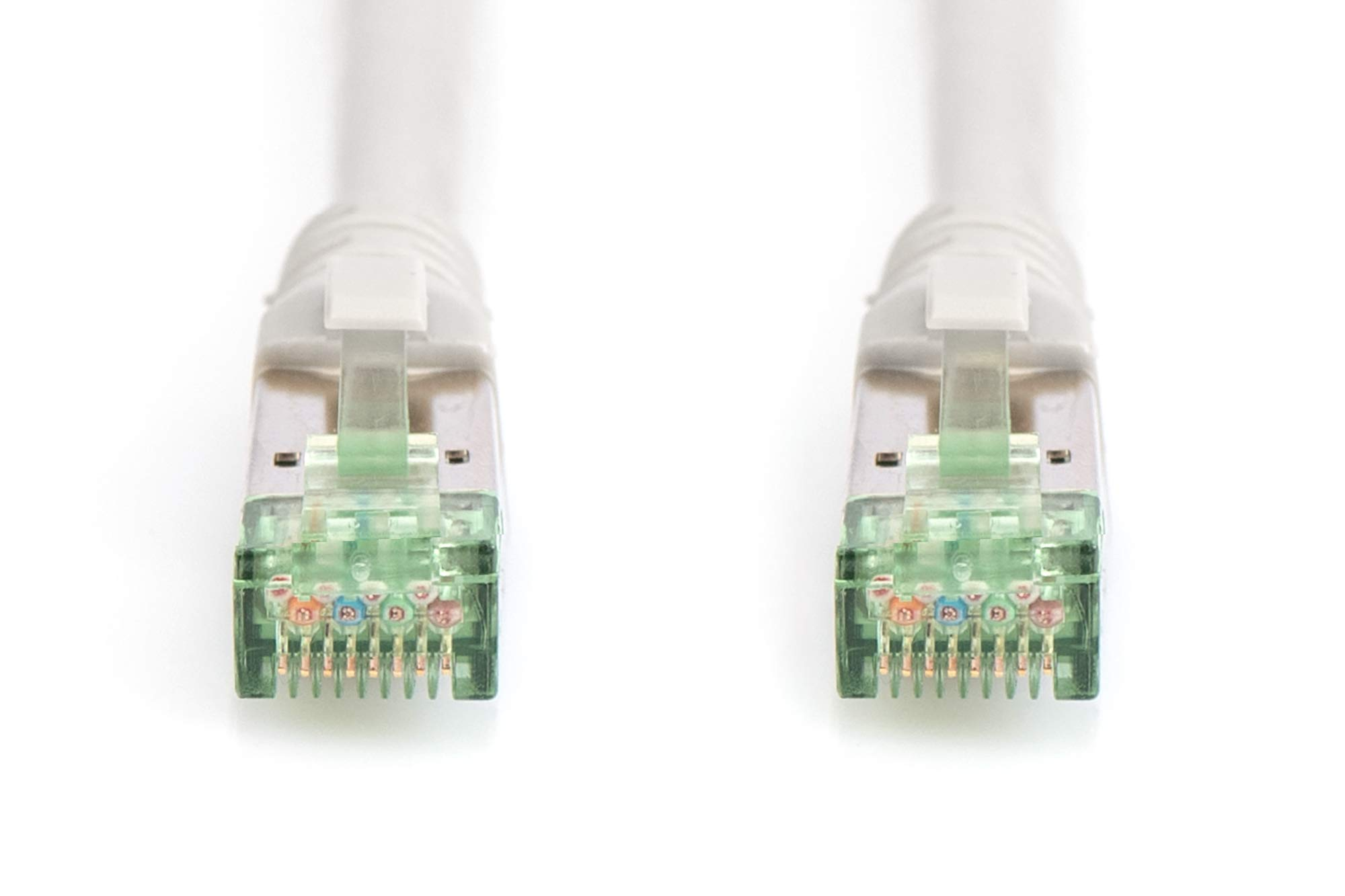 Digitus CAT 6 U-UTP Slim Patch Cable Color Grey Cu LSZH AWG 28//7 Length 0.5 m