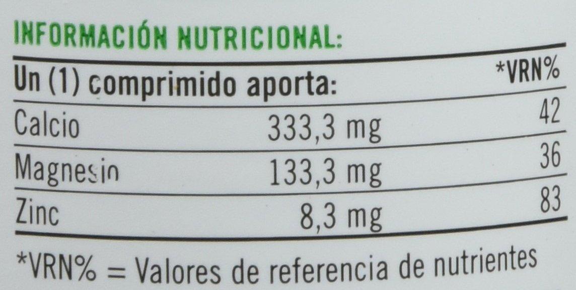 Natures Bounty Calcio, Magnesio y Zinc - 100 Tabletas: Amazon.es: Salud y cuidado personal