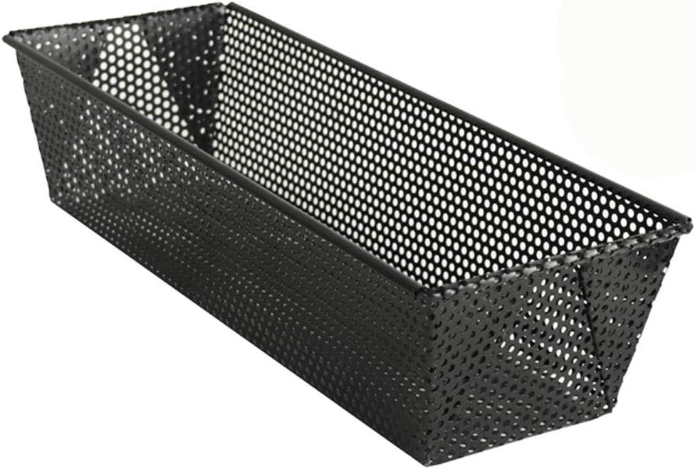 antihaftbeschichtet Brotbackform Kastenform Backform gelocht ca 31 x 11.5 x 8 cm hochwertiger Karbonstahl