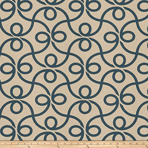 Jaclyn Smith 03716 Navy Fabric by The Yard (Smith Drapes Jaclyn)
