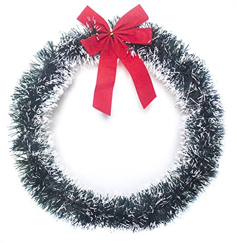 Legacy Holiday Supplies Christmas Wreath Decorations for Front Door ( Measures 14.5 Inches )