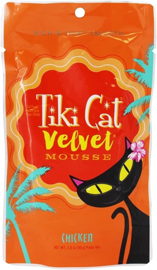 Tiki Cat - Velvet Mousse Cat Food Chicken - 2.8 oz.