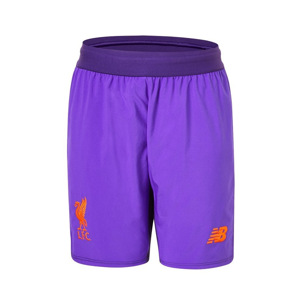 Liverpool FC 18/19 Away Kids Football Shorts - DV New Balance JS830023
