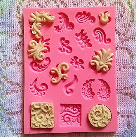Hosaire 1X Moldes de Silicona para Pasteles Hornear de Silicona Antiadherente Usar para Pasteles, Chocolate