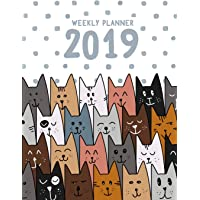 Weekly Planner 2019: For Cat Lovers