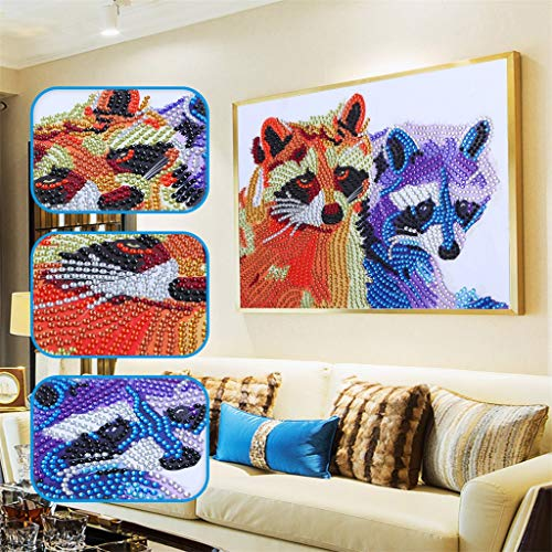 - Allywit Special Shaped Diamond Painting DIY 5D Partial Drill Cross Stitch Kits Crystal for Wall Decoration Supply Arts Craft Best Gift