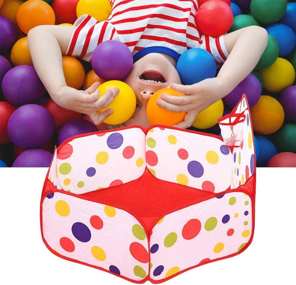 Alomejor Terrain de Balle pour Enfants Piscine /à Balles Jouet Enfant avec Cadre Balle Portable Tente de Jeu pour Enfants
