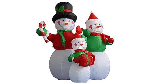 Eastern Corridor 4 pie de Navidad Muñeco De Nieve Hinchable ...