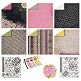 Paper Crafting Collection by Hot Off The Press   Coordinated Collection Including 12 Double-Sided Papers,...
