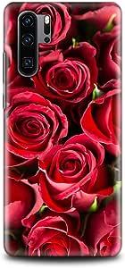 كفر هواوي ب30 برو - فن - زهور حمراء - فن