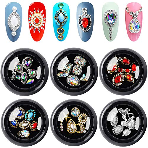Used, 36Pcs AB Color Flat Back Rhinestones, Tingbeauty Crystals for sale  Delivered anywhere in USA
