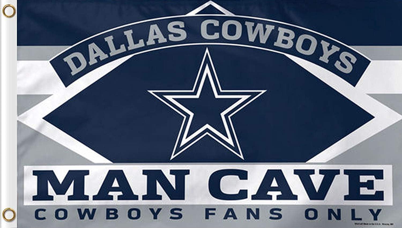 Reddingtonflags NFL Teams Man CAVE Fans ONLY Flag 3x5ft Banner