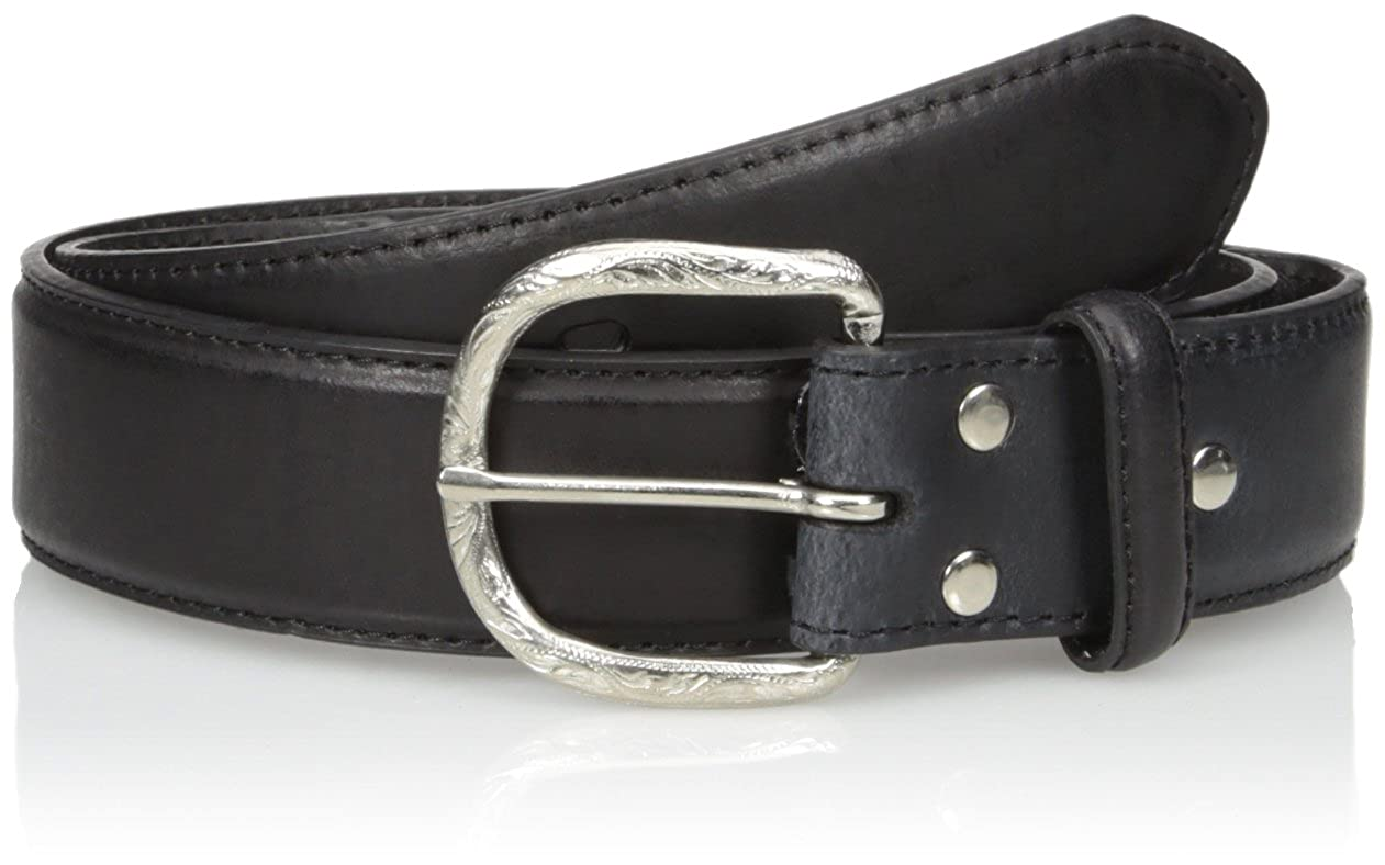 Nocona Mens Black Basic Buckle Belt