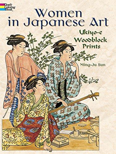 Download Women In Japanese Art Ukiyo E Woodblock Prints Dover Fashion Coloring Book Pdf