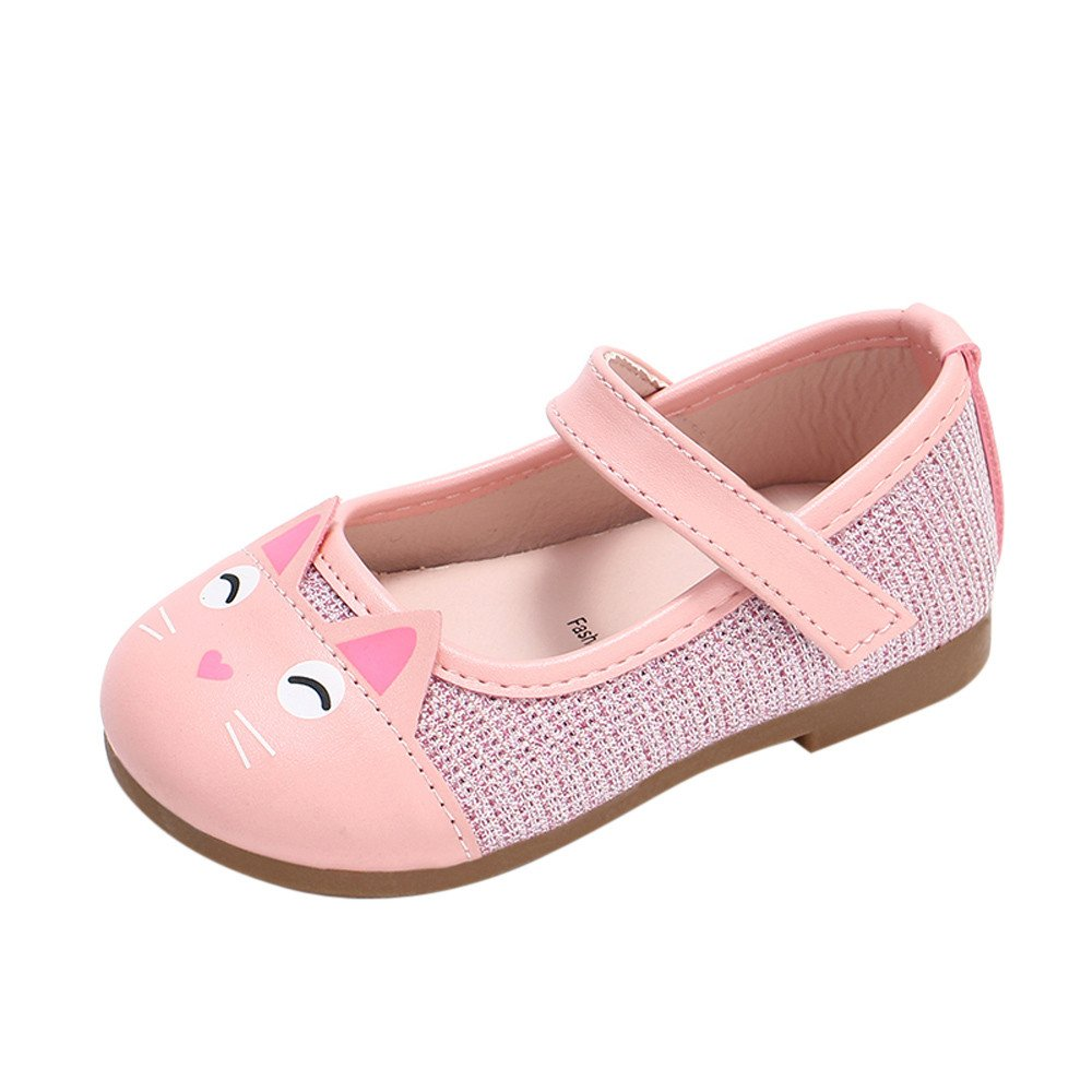 Cloudro Baby Soft Sole Shoes,Flower Leather Single Shoes Princess Shoes Boy Girl
