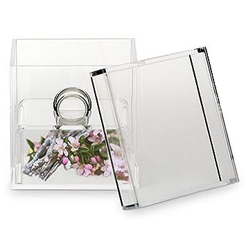 Lywedd Ringbox Ringschatulle Acrylic Uno 7 5 Cm Alternative Zu