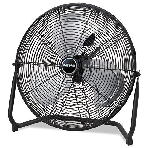 """Patton PUF2010CBM High Velocity Fan, 3-Speed, Black, 24-1/2"""""""