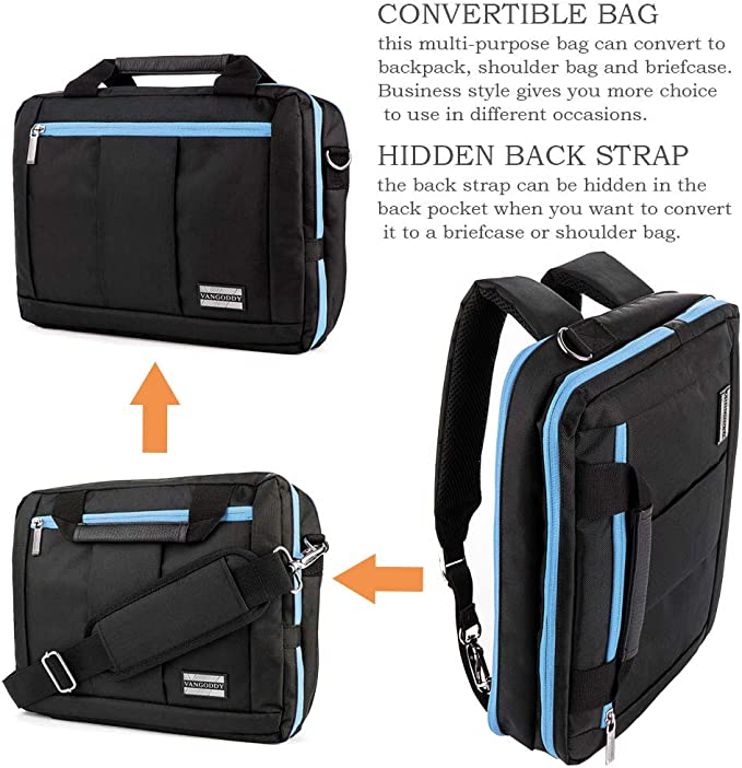 Laptop Shoulder Bag Frogs Cartoon for 15IN-15.4IN Computer MacBook Air Briefcase