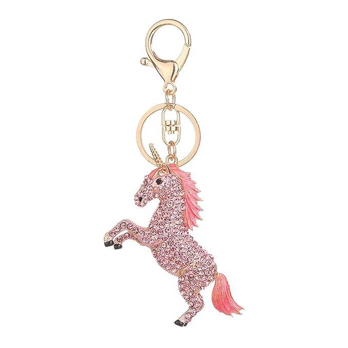 Amazon.com: Funbase - Llavero con diseño de unicornio de ...