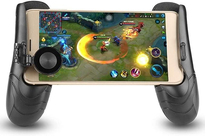 Gamepad Smartphone, Agarre de Mando, Joystick Juegos Empuñadura del Controlador de Juegos del Teléfono Escalable: Amazon.es: Electrónica
