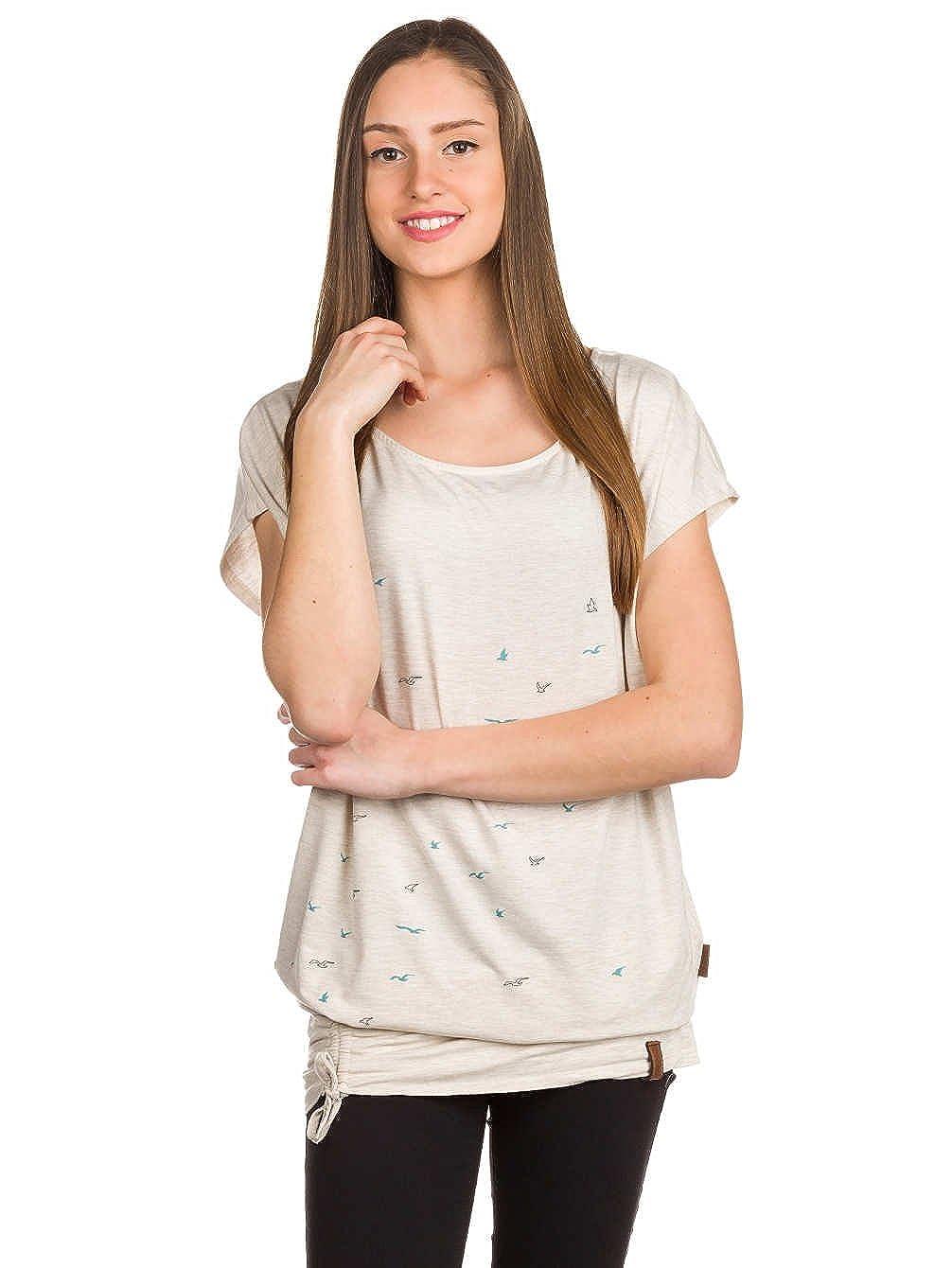 NAKETANO Lorelei T Shirt für Damen Blau
