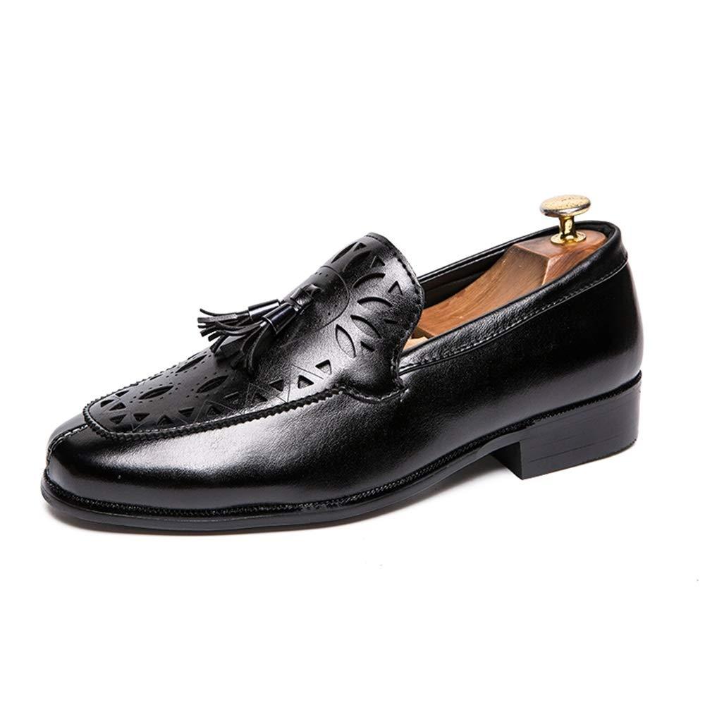 Casual da Uomo Oxford Low Top Carving Tasseled Casual Slip Slip Slip on scarpe Scarpe da c f189db