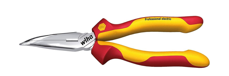 Wiha Z 05 1 200 06SB Pince demi-ronde Professional electric avec coupe-fils