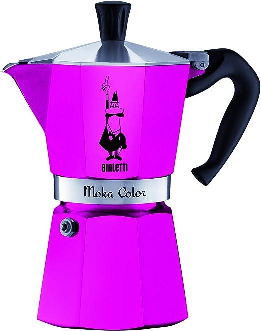 Bialetti 0009142 cafetera Moka Express capacidad de 3 tazas de ...