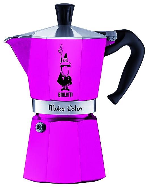 Bialetti 0009142 cafetera Moka Express capacidad de 3 tazas ...