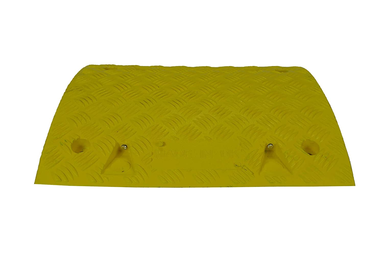 Speed Bump 50mm /& 75mm Sections Brand New Sleeping Policeman Car Ramps Heavy Duty Speed Ramp Mid Sections in YELLOW
