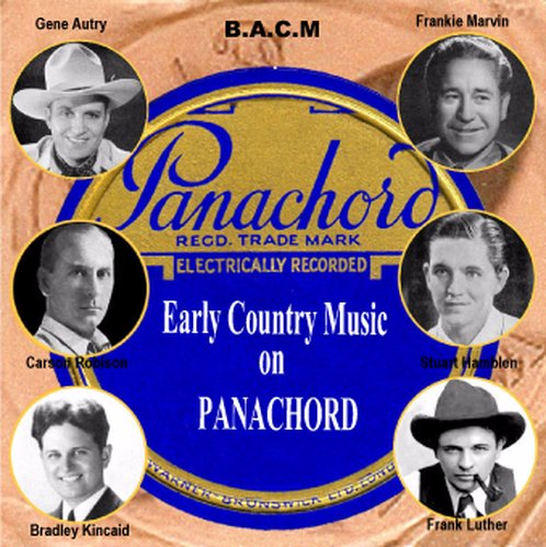 (Panachord Label: Early Country Music)